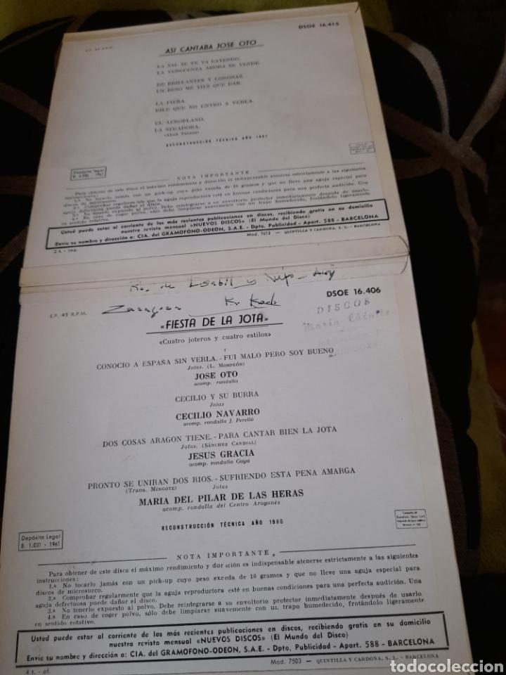 Discos de vinilo: Dos antiguos vinilos de jotas ,a estrenar - Foto 2 - 257810125