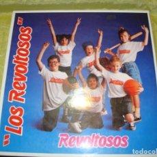Discos de vinilo: LOS REVOLTOSOS. REVOLTOSOS. KONGA MUSIC, 1998. IMPECABLE. Lote 257856745