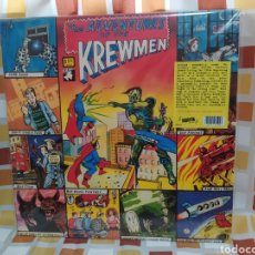 Discos de vinilo: THE KREWMEN–THE ADVENTURES OF THE KREWMEN. LP VINILO NUEVO. PSYCHOBILLY.. Lote 257856815