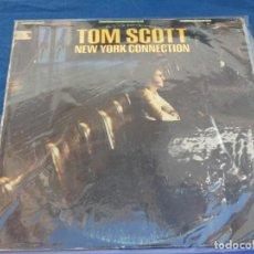 Discos de vinilo: LP TOM SCOTT ODE ESPAÑA 1975 PORTADA GASTADILLA VINILO BUEN ESTADO. Lote 257859550