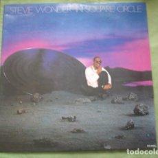Discos de vinilo: STEVIE WONDER IN SQUARE CIRCLE. Lote 257859605