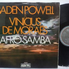 Dischi in vinile: BADEN POWELL - LP SPAIN PS - MINT * AFRO-SAMBA * AÑO 1969 * BARCLAY 13.0129/5. Lote 257860075