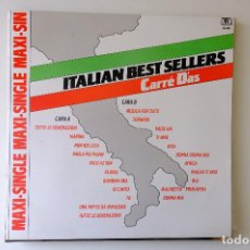 Discos de vinilo: ITALIAN BEST SELLER. CARRÉ DAS MAXI SINGLE VINILO 12. Lote 257864540