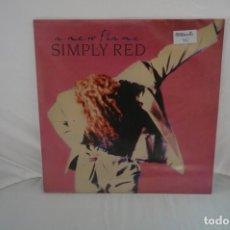 Discos de vinilo: # VINILO 12´´ - LP - SIMPLY RED - A NEW FLAME / WEA. Lote 257865900