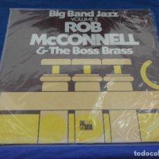 Discos de vinilo: LP BIG BAND JAZZ VOL 2 ROB MC CORNELL BUEN ESTADO THE BOSS BRASS. Lote 257865955