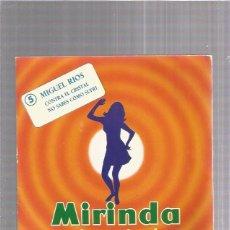 Discos de vinilo: MIGUEL RIOS CONTRA EL CRISTAL MIRINDA. Lote 257866065