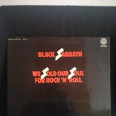 Discos de vinilo: LP GATEFOLD, BLACK SABBATH - WE SOLD OUR SOUL FOR ROCK 'N' ROLL, ESPAÑA 1976. Lote 257867155