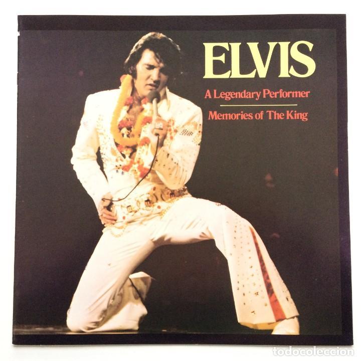 Discos de vinilo: Elvis Presley – A Legendary Performer - Volume 4 USA,1983 RCA - Foto 5 - 1310955