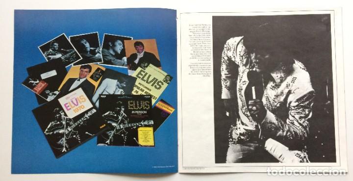 Discos de vinilo: Elvis Presley – A Legendary Performer - Volume 4 USA,1983 RCA - Foto 8 - 1310955