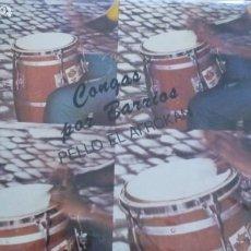 Discos de vinil: PELLO EL AFROKAN GONGAS POR BARRIOS LP AREITO 1988. Lote 257886120