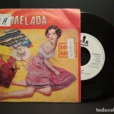 Discos de vinilo: MERMELADA - MARY MARY - SINGLE PROMO - URANTIA 1990 PEPETO. Lote 257887410