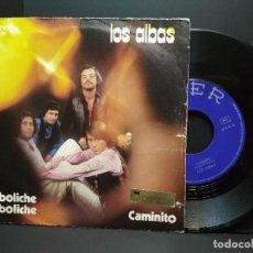 Discos de vinilo: LOS ALBA. DE BOLICHE EN BOLICHE / CAMINITO. SINGLE BELTER 1971. PEPETO. Lote 257891460