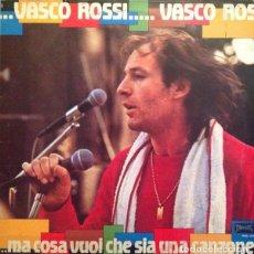 Discos de vinilo: VASCO ROSSI – ...MA COSA VUOI CHE SIA UNA CANZONE. Lote 257898085