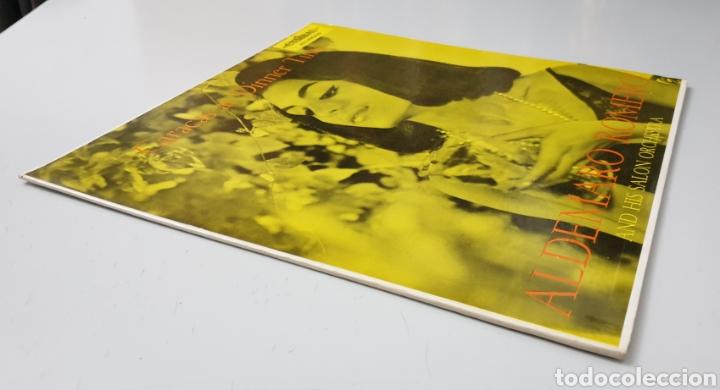 Discos de vinilo: LP ALDEMARO ROMERO & HIS SALON ORCHESTRA - Caracas at dinner time (Venezuela - Cymbal - 1959) NUEVO! - Foto 7 - 213750791