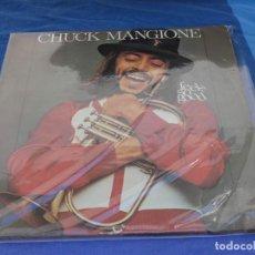 Discos de vinilo: LP CHUCK MANGIONE FEELS SO GOOD ESPAÑA 1978 LEVES SEÑALES USO DECENTE. Lote 257925005