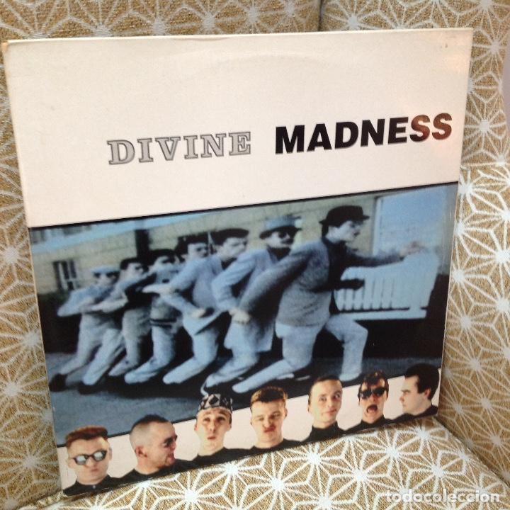 MADNESS / DIVINE MADNESS / GATEFOLD / DOBLE ALBUM / VIRGIN 1992 EDICION ESPAÑOLA (Música - Discos - LP Vinilo - Reggae - Ska)