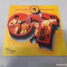 Discos de vinilo: THE JACKSON 5 - GET IT TOGETHER / TOUCH (1974). Lote 257957920