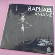 Disques de vinyle: RAPHAEL - AMAME. Lote 257969390