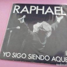 Disques de vinyle: RAPHAEL - YO SIGO SIENDO AQUEL - AÑO 1985. Lote 257972785