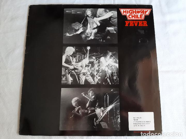 HIGHWAY CHILE -FEVER- (1983) MAXI-SINGLE (Música - Discos de Vinilo - Maxi Singles - Heavy - Metal)