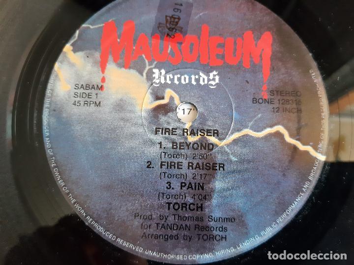 Discos de vinilo: TORCH -FIRE RAISER- (1984) MAXI-SINGLE - Foto 3 - 258008425