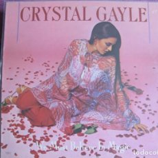 Disques de vinyle: LP - CRYSTAL GAYLE - WE MUST BELIEVE IN MAGIC (USA, UA RECORDS 1977). Lote 258019675