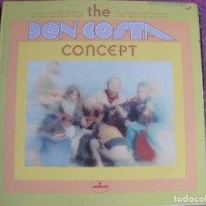 Disques de vinyle: LP - DON COSTA - THE DON COSTA CONCEPT (USA, MERCURY RECORDS SIN FECHA). Lote 258023570