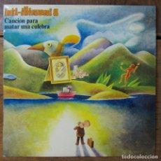 Disques de vinyle: INTI-ILLIMANI 8 - CANCIÓN PARA MATAR UNA CULEBRA - 1979 - CHILE. Lote 258025255