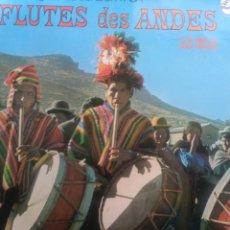 Discos de vinilo: LOS INCAS. FLUTES DES ANDES. Lote 258042760