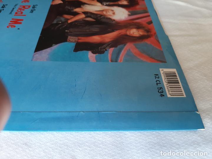Discos de vinilo: W.A.S.P. -THE REAL ME- (1989) MAXI-SINGLE FIRMADO - Foto 7 - 258044690