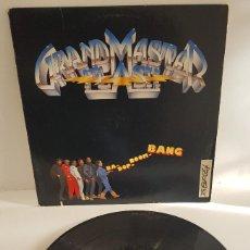 Disques de vinyle: GRANDMASTER FLASH / BA- DOP- BOOM. Lote 258050165