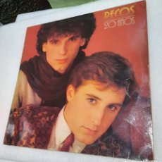 Disques de vinyle: LOS PECOS - 20 AÑOS. Lote 258052140