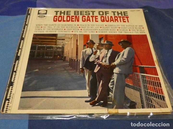 LP ESPAÑA CA 1968 BEST OF GOLDEN GATE QUARTER ESPAÑA 68 ESTADO DECENTE 9 (Música - Discos - LP Vinilo - Pop - Rock - Internacional de los 70)