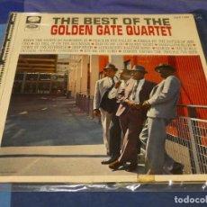 Discos de vinilo: LP ESPAÑA CA 1968 BEST OF GOLDEN GATE QUARTER ESPAÑA 68 ESTADO DECENTE 9. Lote 258078210