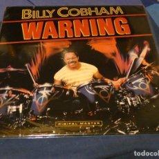 Dischi in vinile: LP BILLY COBHAM WARNING ESPAÑA 1984 MUY BUEN ESTADO. Lote 258083195