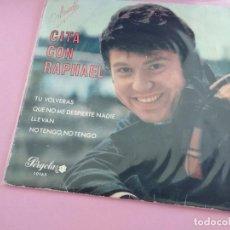 Discos de vinilo: RAPHAEL CITA CON RAPHAEL - TU VOLVERAS… (PERGOLA EP 1969 CIRC. LECTORES) ESPAÑA. Lote 269581873