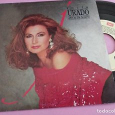 Dischi in vinile: ROCIO JURADO-AMOR DE NOCHE + ERES UNICO SINGLE VINILO EDITA EMI EN 1989. Lote 258088030