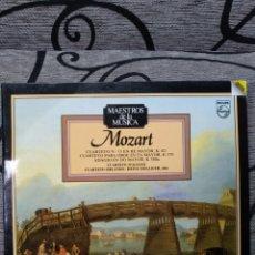 Discos de vinilo: MOZART*_–CUARTETO Nº 15 EN RE MAYOR, K 421 - CUARTETO PARA OBOE EN FA MAYOR, K 370 - ADAGIO EN DO. Lote 191604020