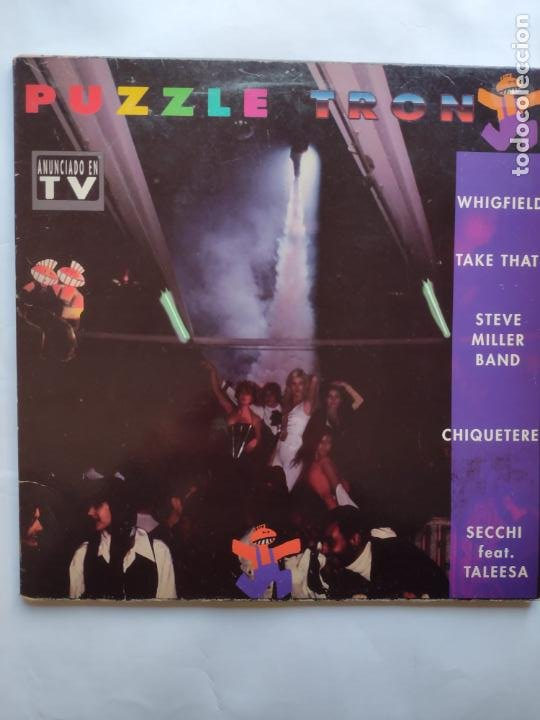 PUZZLETRON- 2LP-WHIGFIELD-TAKE THAT-CHIQUETERE-ALDUS HAZA-LUCIFER-DLM-STEVE MILLER BAND-PCA PROBLEMS (Música - Discos - LP Vinilo - Techno, Trance y House)
