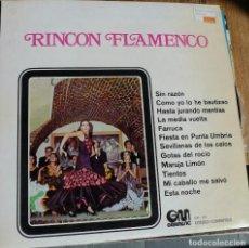 Discos de vinilo: RINCON FLAMENCO. Lote 258142515