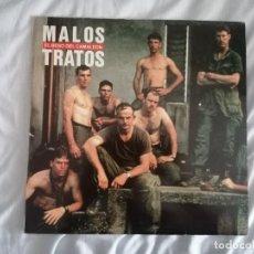 Discos de vinilo: DISCO VINILO LP EL BESO DEL CAMALEÓN - MALOS TRATOS -. Lote 258175915