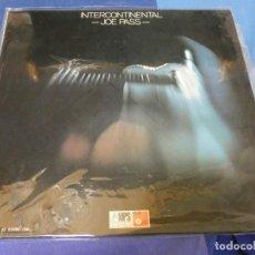Discos de vinilo: EXPRO LP JAZZ 1975 JOE PASS INTERCONTINENTAL MUUUUY BUEN ESTADO. Lote 289812348