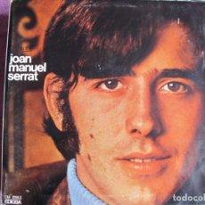 Discos de vinil: LP - JOAN MANUEL SERRAT - MISMO TITULO (SPAIN, EDIGSA 1968, PORTADA DOBLE). Lote 258188685