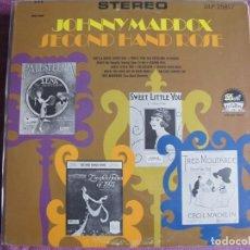 Discos de vinilo: LP - JOHNNY MADDOX - SECOND HAND ROSE (USA, DOT RECORDS SIN FECHA). Lote 258192620
