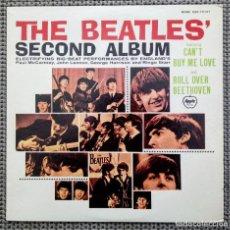 Discos de vinilo: LP THE BEATLES SECOND ALBUM. EDICIÓN JAPÓNESA. MADE IN JAPAN. VINILO MONO Y CON LETRAS.. Lote 258202630