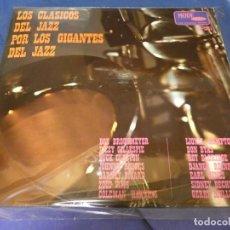 Discos de vinilo: LP JAZZ ESPAÑA 1967 EN MODE DISCOS LOS CLASICOS DEL JAZZ POR LOS GIGANTES DEL JAZZ CORRECTISMO. Lote 258206195