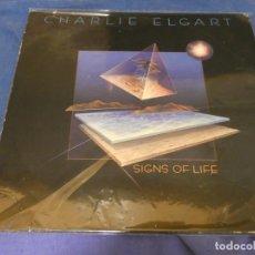 Discos de vinilo: LP NEW AGE- MISTICO- ALUCINADO CHARLIE ELGART SINGS OF LIFE MUY BUEN ESTAD GENERAL ED AMERICANA. Lote 258206685
