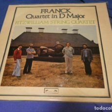 Discos de vinilo: LP UK 1980 MUY BUEN STADO FRACK QUARTET IN D MAJOR FITZWILLAIM STRING QUARTET. Lote 258207155