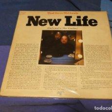 Discos de vinilo: LP JAZZ ESPAÑA 1976 THAD JONES AND MEL LEWIS NEW LIFE LEVES SEÑALES USO 28 PORTADA TRIPLE. Lote 258207360