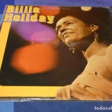 Discos de vinilo: LP DAMA DEL BLUES BILLIE HOLIDAY HOMONIMO JOKER RECORDS ITALIA 1982 MUY BUEN ESTADO. Lote 258209040